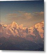 The Bernese Alps Metal Print
