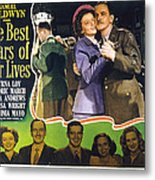 The Best Years Of Our Lives, Myrna Loy Metal Print by Everett