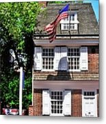The Betsy Ross House Metal Print