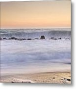The Big Wave Metal Print