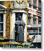 The Black Friar Pub In London Metal Print
