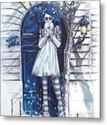 The Blue Door Metal Print by Lori Keilwitz