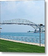 The Blue Water Bridge  Metal Print