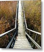 The Boardwalk Metal Print