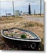 The Boat Garden Metal Print