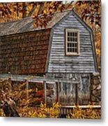 The Boathouse At The Manse Metal Print