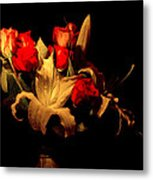 The Bouquet Metal Print