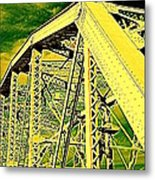The Bridge To The Skies Metal Print