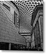 The British Museum I Metal Print