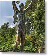 The Bronze Stallion II - Rocky Balboa - Philadelphia - Pennsylvania - Rocky Steps Metal Print