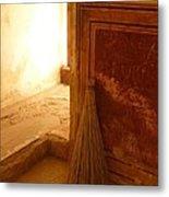 The Broom Metal Print