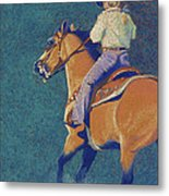 The Buckskin Metal Print
