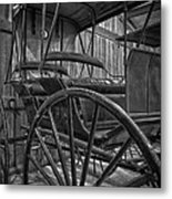 The Buggy Barn Metal Print