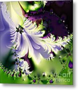 The Butterfly Effect . Version 2 . Square Metal Print by Wingsdomain Art and Photography