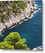 The Calanques Metal Print