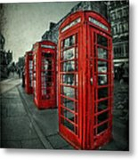 The Call Of Yesteryear Metal Print