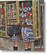 The Candy Store Metal Print