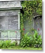 The Canna Farm Metal Print