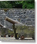 The Cannons Of Bunratty Castle Metal Print