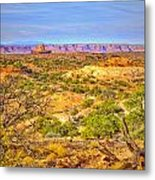 The Canyon In The Distance Metal Print