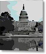 the Capitol  Metal Print