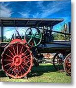 The Capp Family Case Engine Metal Print