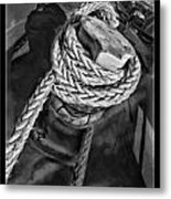 The Captain Knot Metal Print