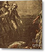 The Capture Of Margaret Garner Metal Print by Photo Researchers