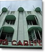 The Carlyle Metal Print