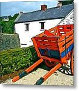 The Cart Metal Print