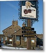 The Cat And Fiddle Pub Metal Print