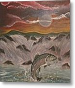 The Catch Metal Print by Shadrach Ensor