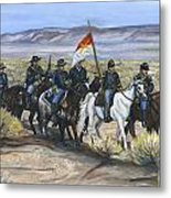 The Cavalry Metal Print