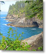 The Caves Of Cape Flattery  Metal Print