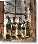 The Cellar Window Metal Print