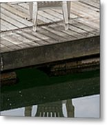 The Chairs Metal Print