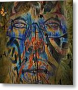 The Change Of Faces Metal Print