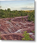 The Cheltenham Badlands Metal Print