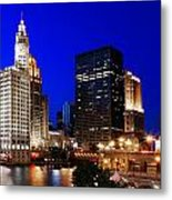 The Chicago River Metal Print