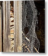 The Chicken Coop Caper Metal Print