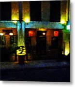 The Chinese Restaurant Metal Print