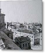 The City From Height -1 Metal Print