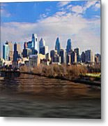 The City Of Brotherly Love Metal Print