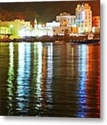 The City Of The Color Metal Print by Jenny Senra Pampin