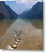 The Clear Waters Of King's Lake Metal Print