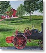 The Clemens Farm Metal Print