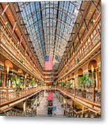 The Cleveland Arcade II Metal Print by Clarence Holmes