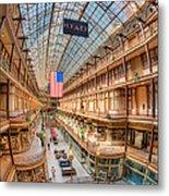 The Cleveland Arcade Iv Metal Print