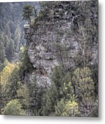 The Cliff Metal Print