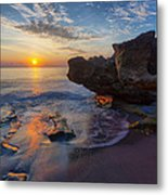 The Cliffs Of Florida Metal Print